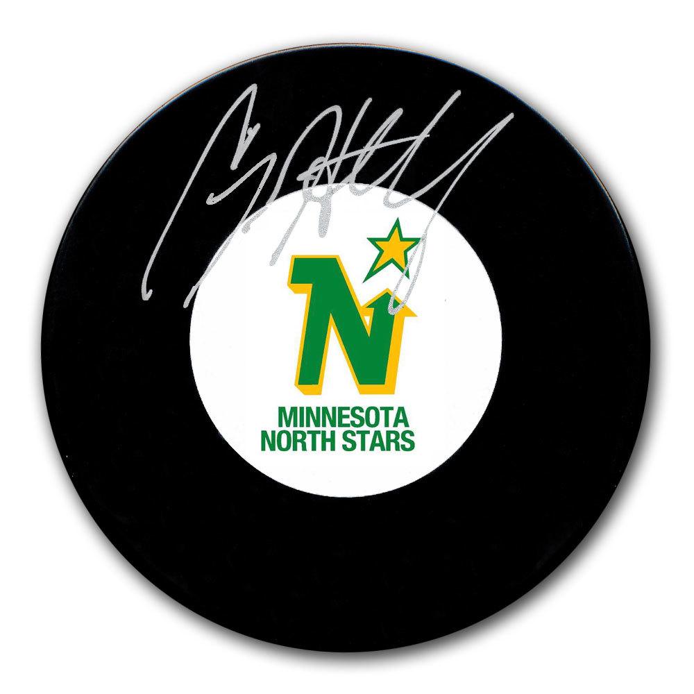 Craig Hartsburg Minnesota North Stars Autographed Puck