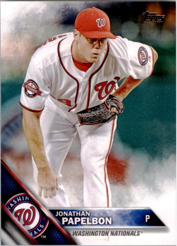 Photo of 2016 Topps #266 Jonathan Papelbon