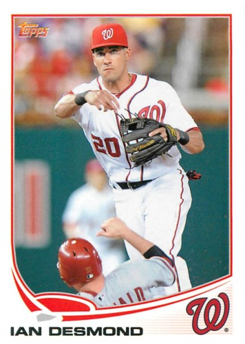 Photo of 2013 Topps #120 Ian Desmond