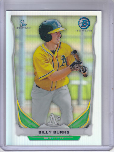 Photo of 2014 Bowman Chrome Prospects Refractors #BCP19 Billy Burns