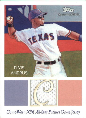 Photo of 2010 Topps National Chicle Relics Bazooka Back #EA Elvis Andrus