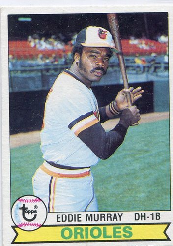 Photo of 1979 Topps #640 Eddie Murray -- Hall of Famer