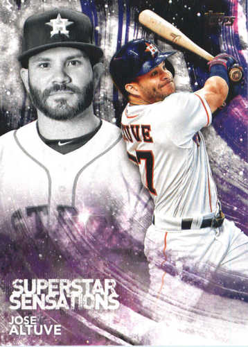 Photo of 2018 Topps Superstar Sensations #SSS2 Jose Altuve