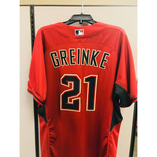 Photo of 2016 Team-Issued Batting Practice Zach Grienke Jersey  - Size 48