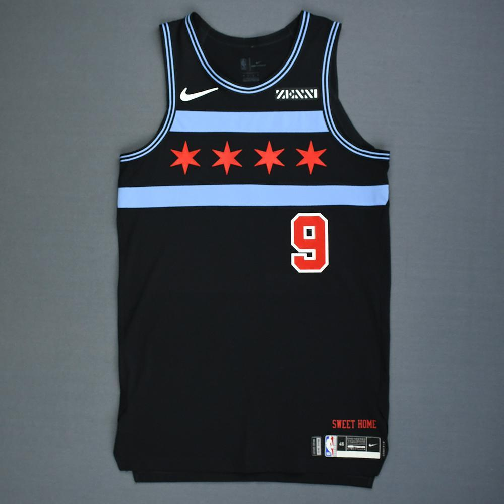 Antonio Blakeney - Chicago Bulls - Game-Worn City Edition Jersey - 2018-19 Season