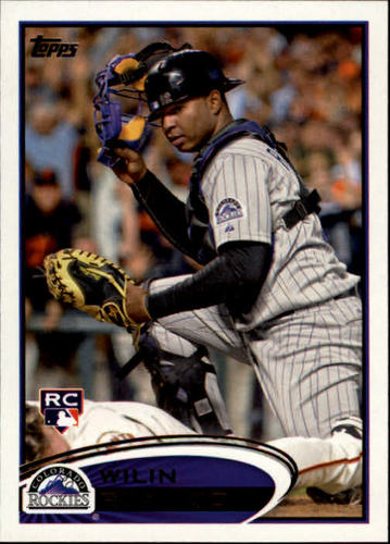 Photo of 2012 Topps #184 Wilin Rosario RC