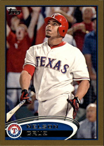 Photo of 2012 Topps Gold #344 Nelson Cruz