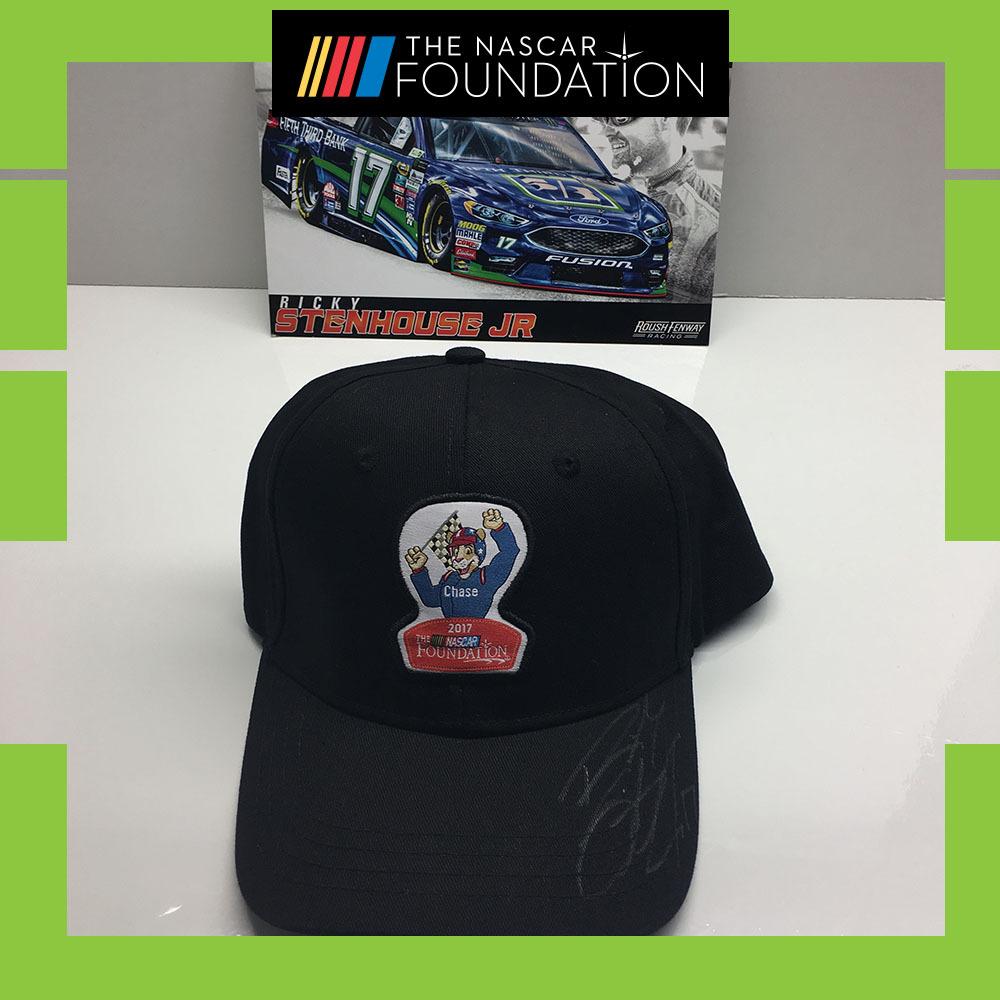 NASCAR's Ricky Stenhouse Jr. Autographed Hat!