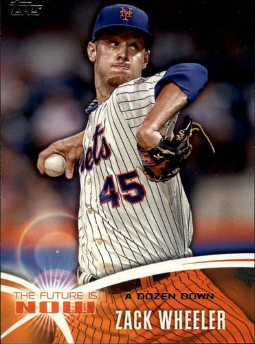 Photo of 2014 Topps The Future is Now #FN12 Zack Wheeler