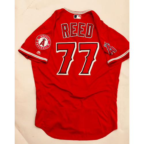 Photo of 2019 Mexico Series - Game-Used Jersey - Jeremy Reed, Houston Astros at Los Angeles Angels - 5/4/19