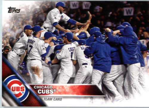 Photo of 2016 Topps #474 Chicago Cubs