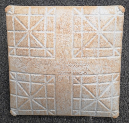 Photo of Authenticated Game Used Base - 2nd Base for Inning 1 to 3. June 4-5, 2019 vs NYY. Games Started by James Paxton and Masahiro Tanaka