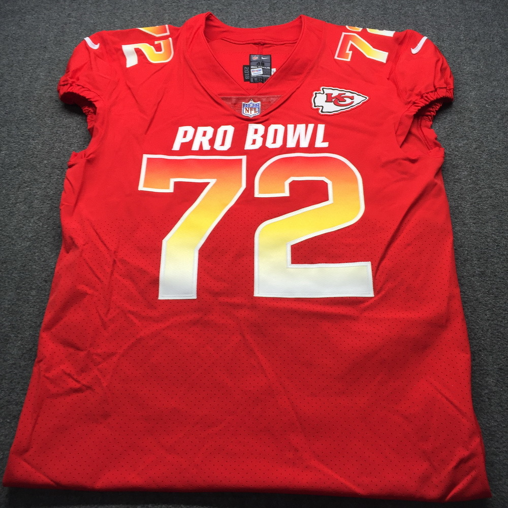 classic 754ad 7206a NFL Auction   NFL - Chiefs Eric Fisher Game Issued 2019 Pro ...