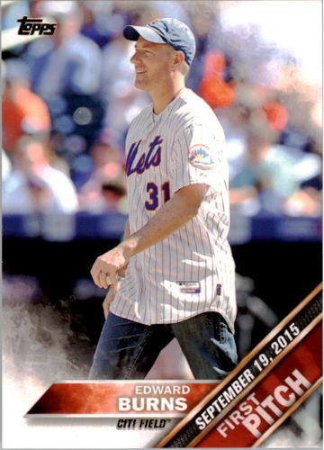 Photo of 2016 Topps First Pitch #FP13 Edward Burns S2