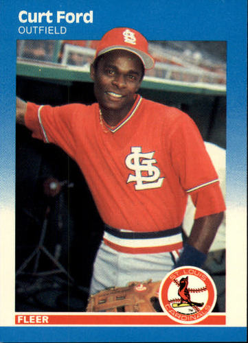 Photo of 1987 Fleer #294 Curt Ford