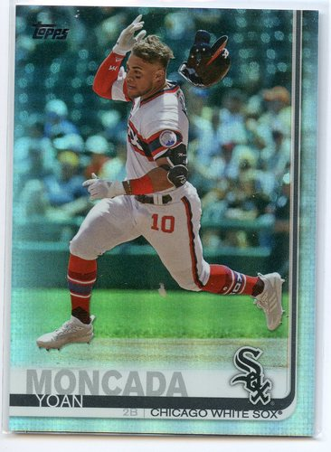 Photo of 2019 Topps Rainbow Foil #377 Yoan Moncada