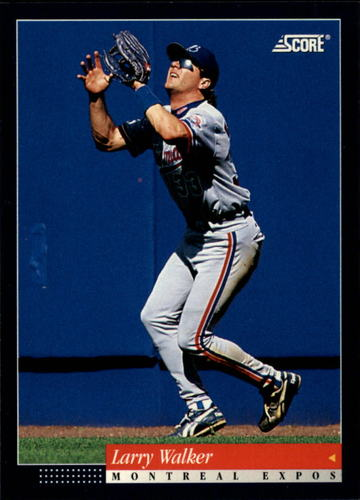 Photo of 1994 Score #376 Larry Walker