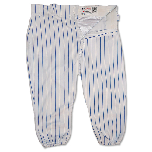 Photo of Pete Alonso #20 - Team Issued White Pinstripe Pants - 2019 Season