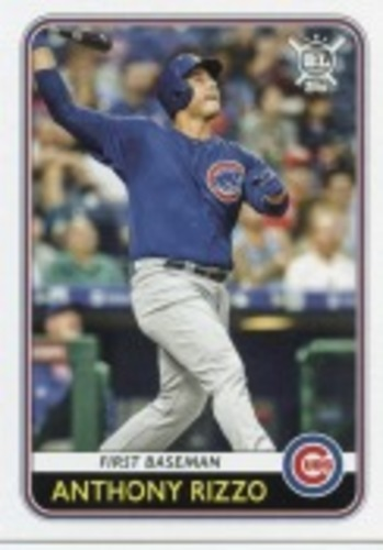Photo of 2020 Topps Big League #72 Anthony Rizzo