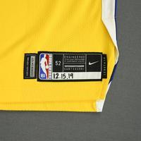 Draymond Green - Golden State Warriors - Game-Worn Statement Edition Jersey - 2019-20 NBA Season