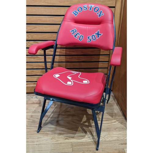 Photo of Jacoby Ellsbury Fenway Park Locker Room Chair
