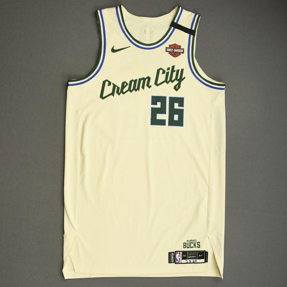 Kyle Korver - Milwaukee Bucks - Game-Worn City Edition Jersey - 2019-20 NBA Season
