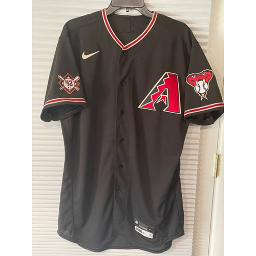 Photo of Jake Lamb 2020 Game-Used Jackie Robinson Day Jersey (Size 44)