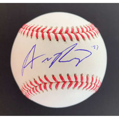 Photo of Austin Riley MLB Authenticated Autographed Baseball
