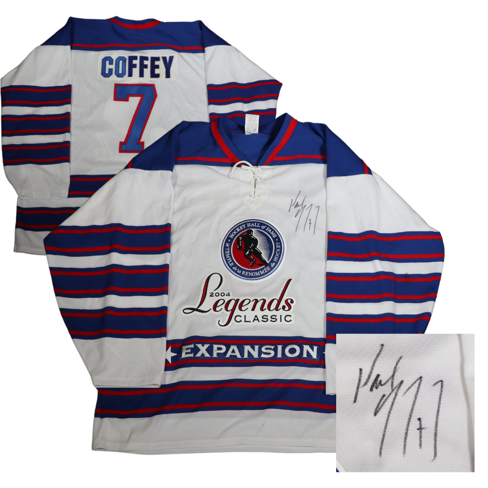 Autographed Paul Coffey Game-Issued Legends Classic Jersey