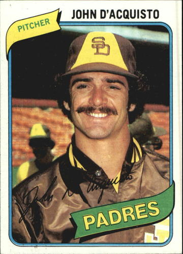 Photo of 1980 Topps #339 John D'Acquisto