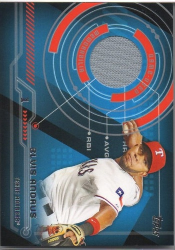 Photo of 2014 Topps Trajectory Relics #TREA Elvis Andrus