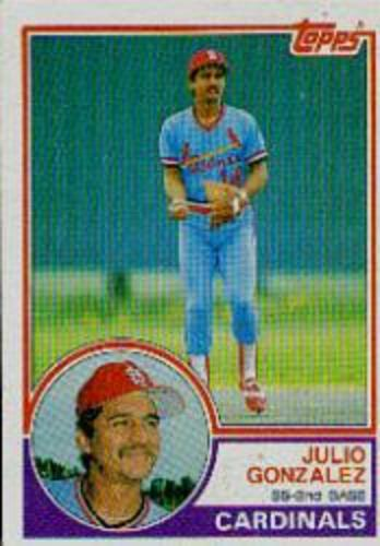 Photo of 1983 Topps #74 Julio Gonzalez