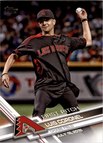 Photo of 2017 Topps First Pitch #FP13 Luis Coronel