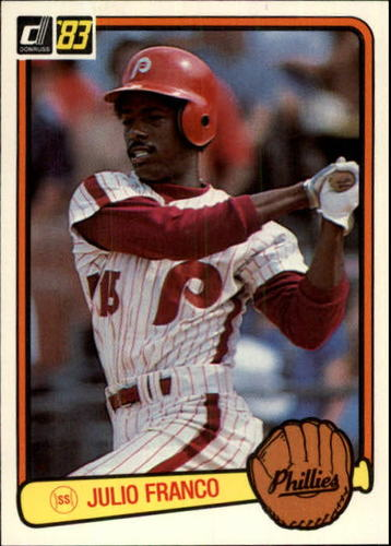 Photo of 1983 Donruss #525 Julio Franco RC