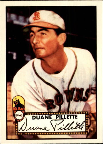 Photo of 1983 Topps 1952 Reprint #82 Duane Pillette