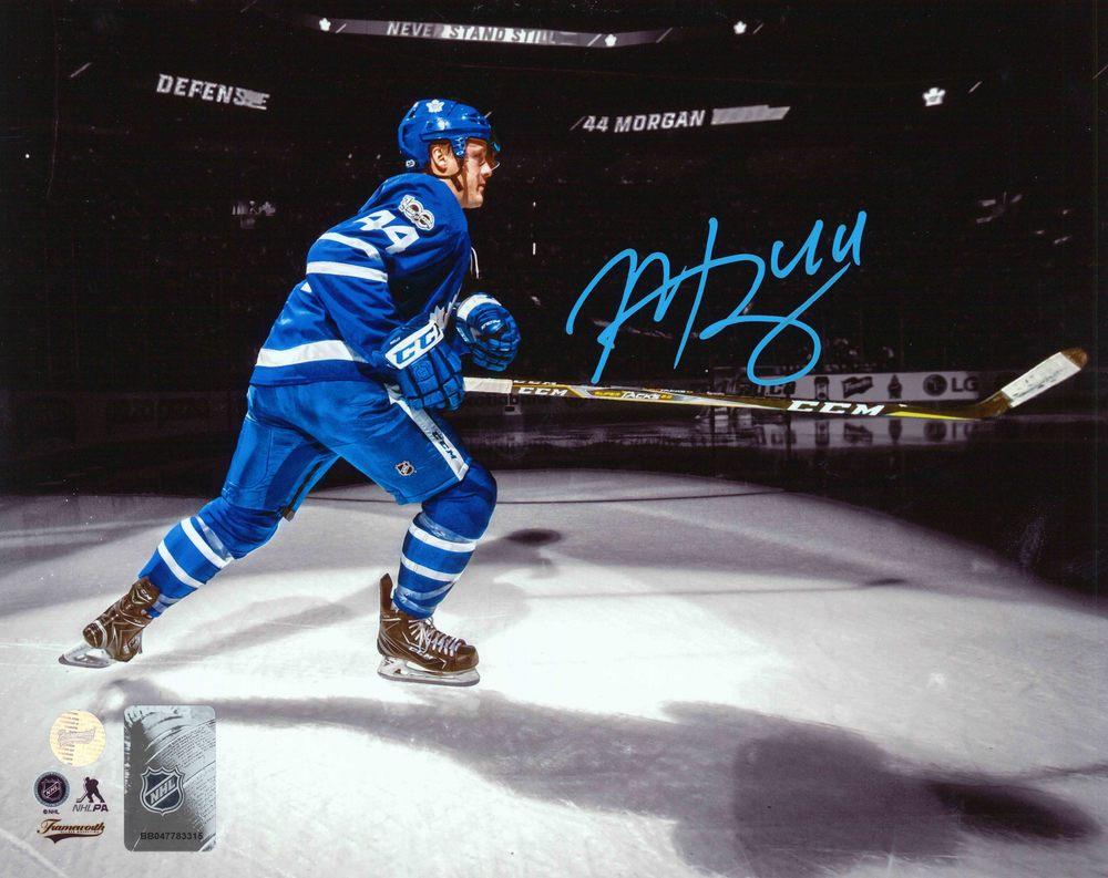 Morgan Rielly - Signed 8x10 Unframed Maple Leafs Spotlight-H