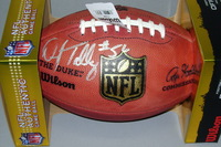 NFL - BILLS DARRYL TALLEY SIGNED AUTHENTIC FOOTBALL