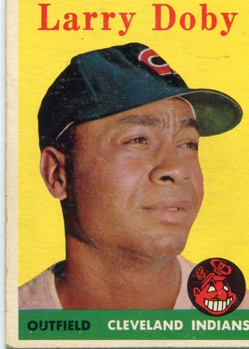 Photo of 1958 Topps #424 Larry Doby  -- Hall of Famer
