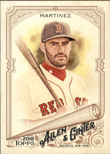 Photo of 2018 Topps Allen and Ginter #51 J.D. Martinez