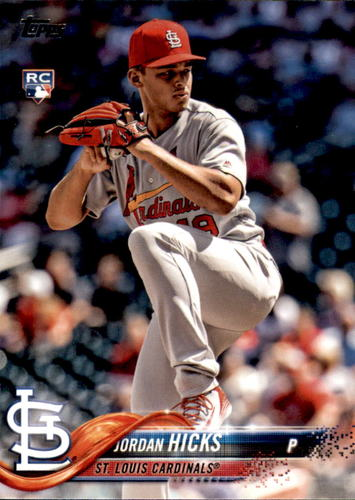 Photo of 2018 Topps Update #US58 Jordan Hicks RC