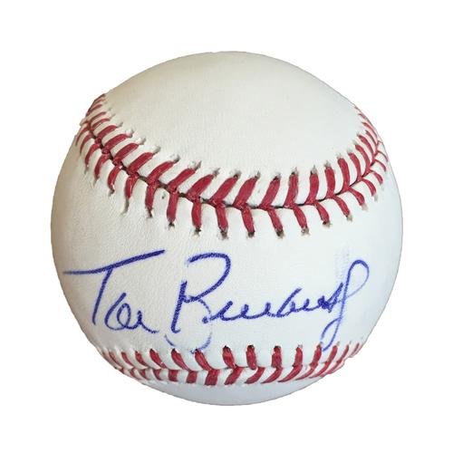 Photo of Autographed Tom Brunansky Baseball