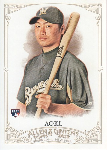 Photo of 2012 Topps Allen and Ginter #150 Norichika Aoki RC