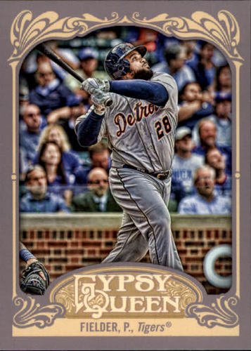 Photo of 2012 Topps Gypsy Queen #160 Prince Fielder