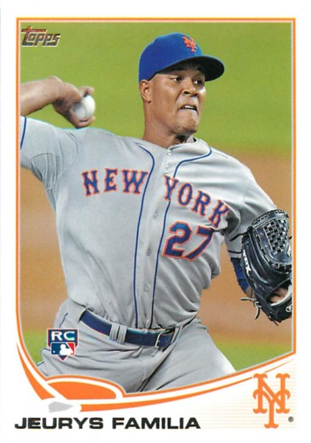 Photo of 2013 Topps #271 Jeurys Familia RC