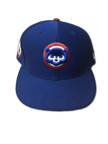 Photo of Kyle Hendricks Team-Issued Hat -- Size 7 1/4 -- Spring Training 2019