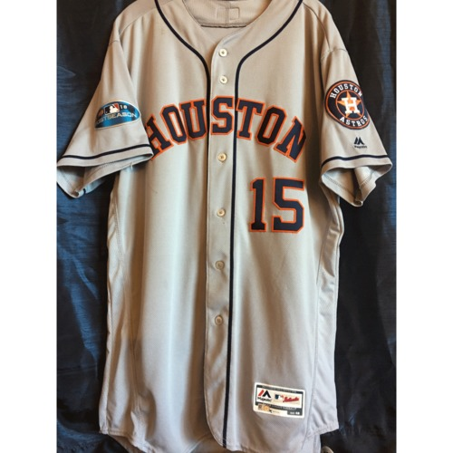 Photo of Martin Maldonado 2018 Game-Used ALCS Game 2 Jersey