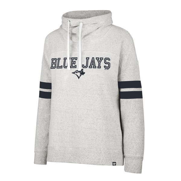 Toronto Blue Jays Women's Offside Funnel Neck Sweatshirt by '47 Brand