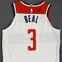 Bradley Beal - Washington Wizards - Kia NBA Tip-Off 2019 - Game-Worn Association Edition Jersey