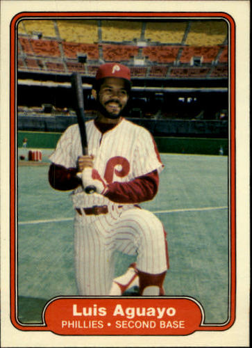 Photo of 1982 Fleer #238 Luis Aguayo