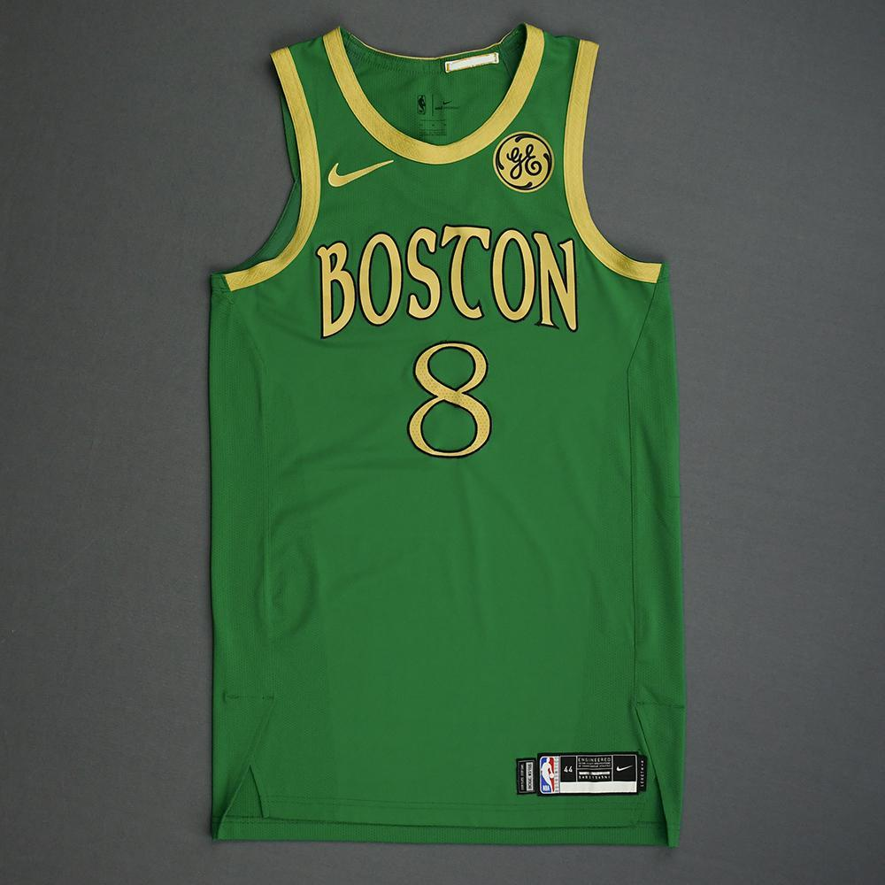 Kemba Walker   Boston Celtics   Christmas Day' 19   Game Worn City